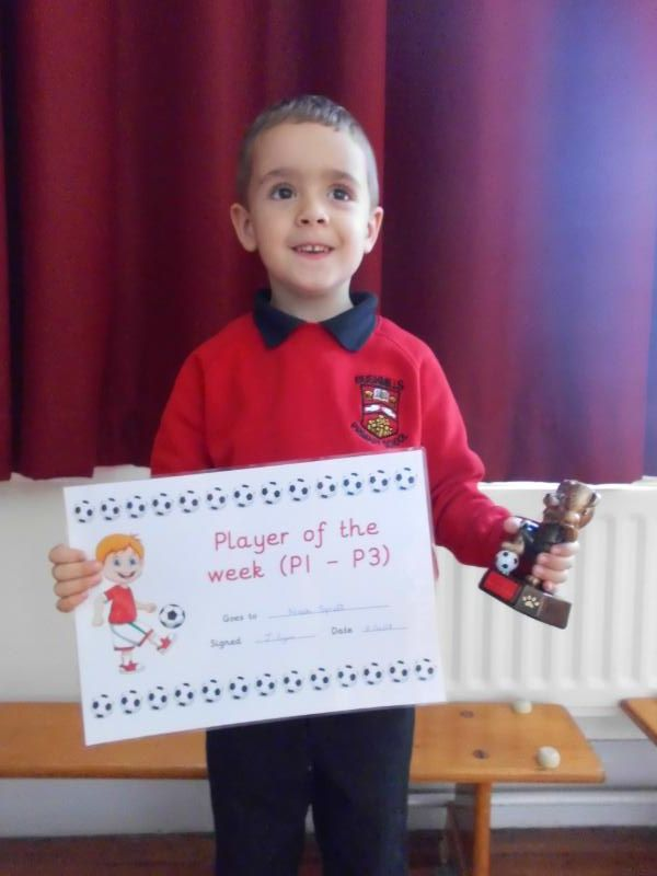 Primary 1-3 Footballer of the Week