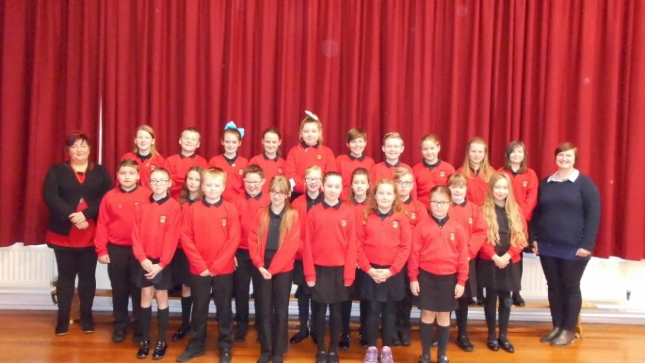 Primary 6/7 with Mrs Sheridan and Mrs Robb